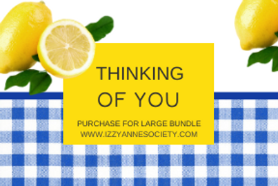 Thinking Of You - Large Bundle