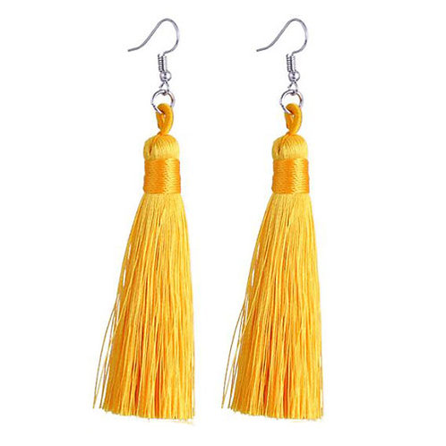 Thick Tassel Yellow