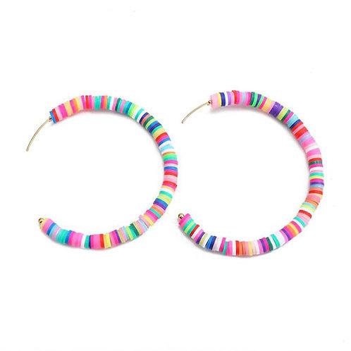 Summer Lovin' Hoops Multi Color