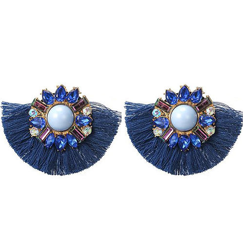 Short Tassel Jewels Blue