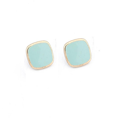 Square Stud Mint