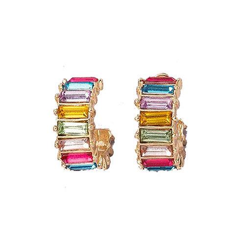 Rainbow Bars Hoop Pastels