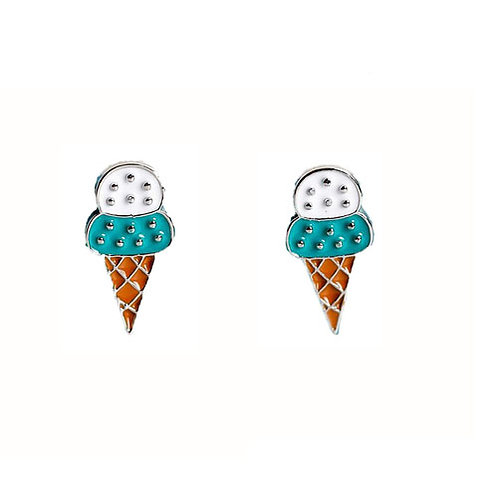 Icecream Studs Blue
