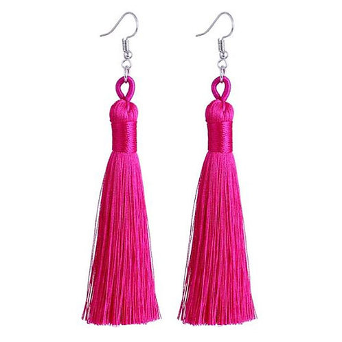Thick Tassel Hot Pink