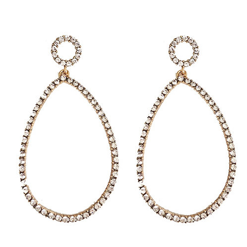 Classic Oval Bling