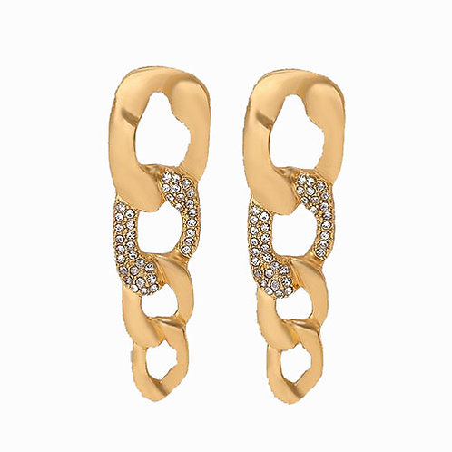 Diamond Accent Chain Link