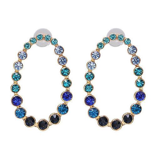 Blue Gems Oval