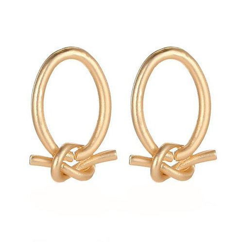 Little Nautical Knot Hoops