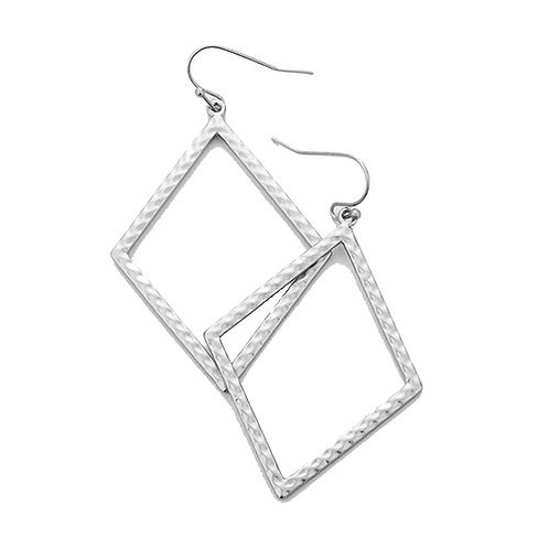 Metal Silver Diamond