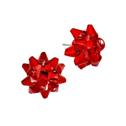 Red Bow Studs
