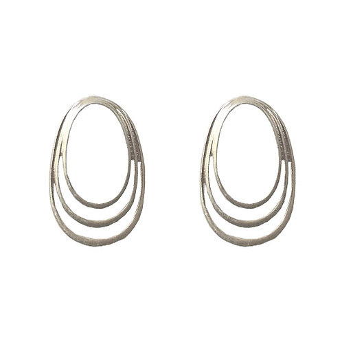 Three Ringed Silver