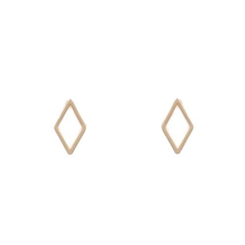Open Diamond Studs