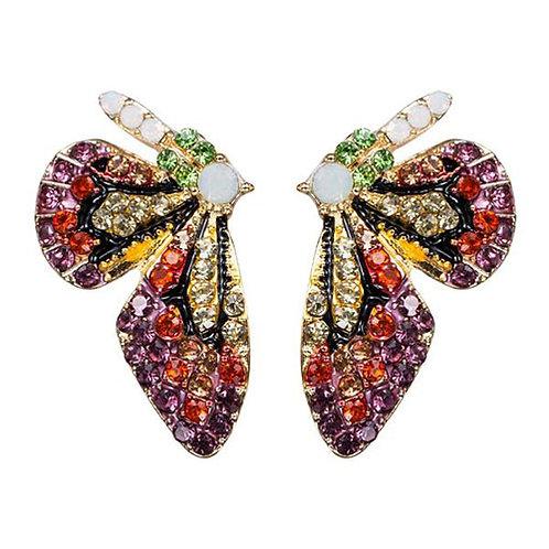 Mini Butterfly Wings Bling Dark