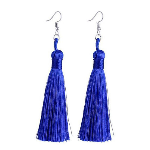 Thick Tassel Royal Blue