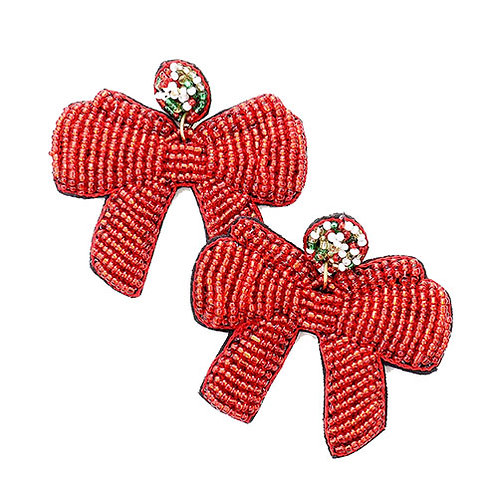 Classic Holiday Red Bow
