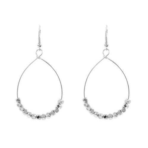 Teardrop Silver Marbles