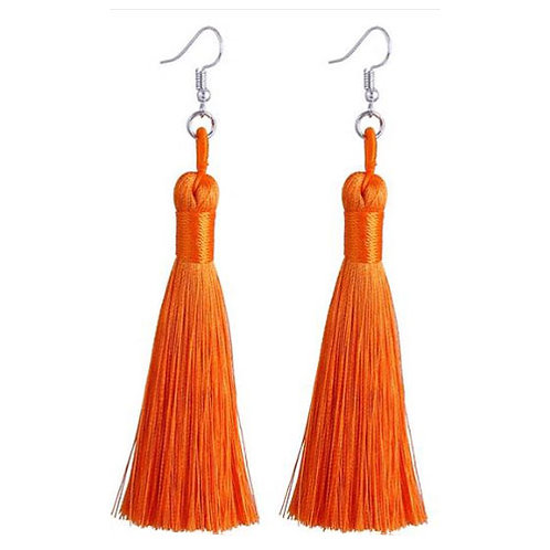 Thick Tassel Orange