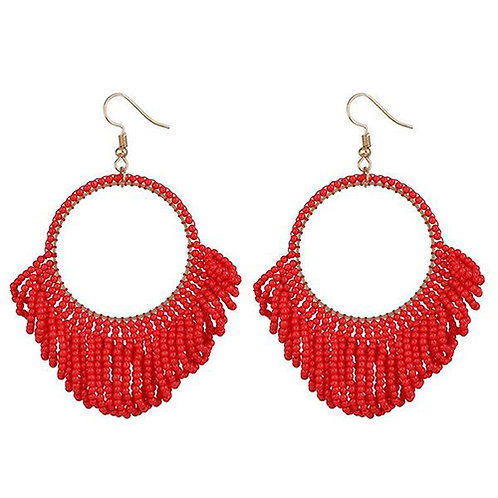 Red Beaded