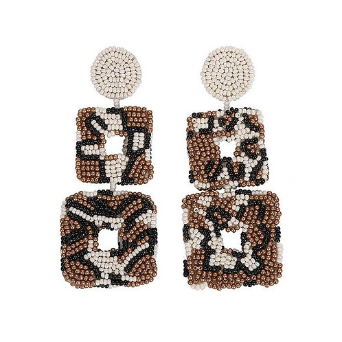 Leopard Beaded Stack