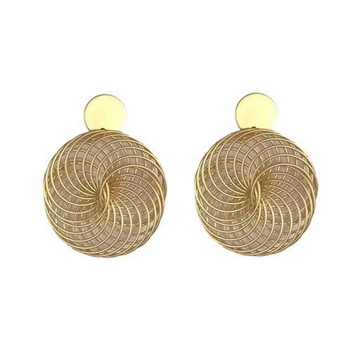 Metal Gold Pinwheels