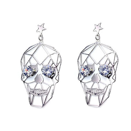 Bling Skull Silver