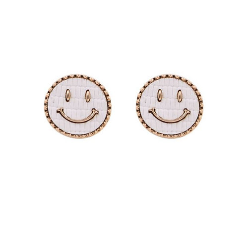 Smile Face White