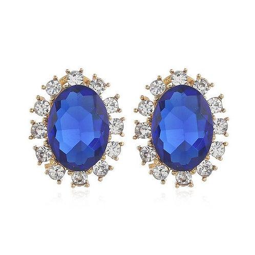 Royal Blue Classic Studs