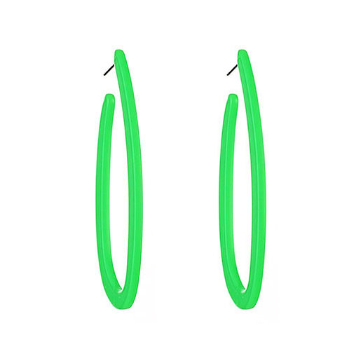 Neon Oblong Lime