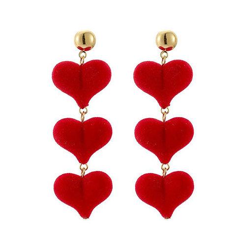 3 Flocked Hearts