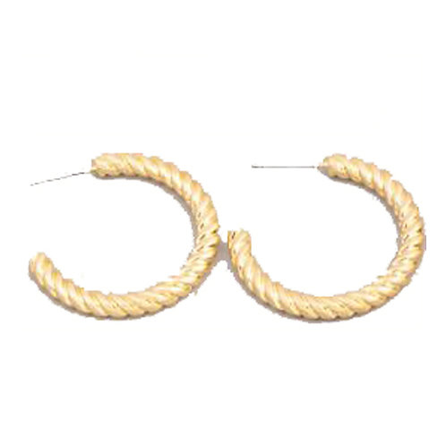Twisted Hoops Gold - LG
