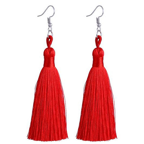 Thick Tassel Red