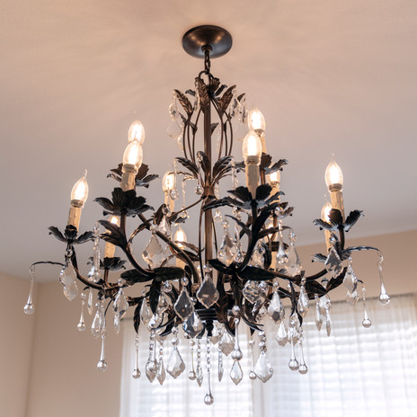Master Bedroom Chandelier