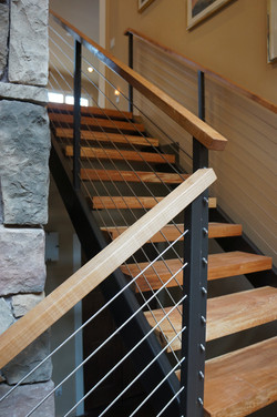 NW Contemporary Custom Railings