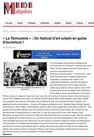 La Teinturerie » : Un festival d'art