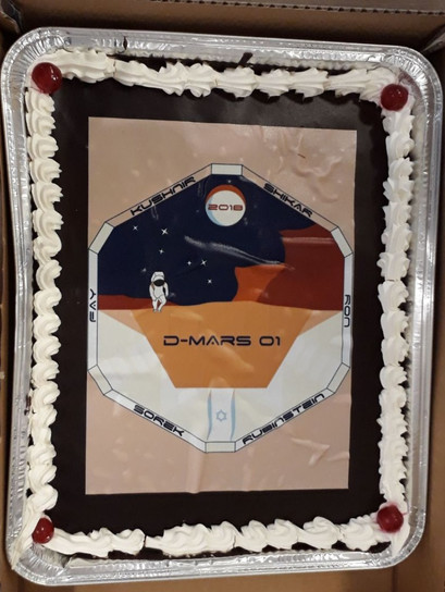 A D-Mars Martian cake
