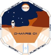D-MARS 01 Mission Patch