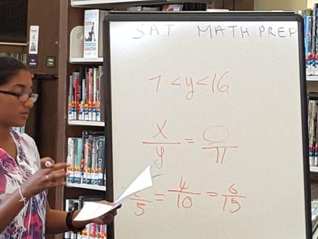 FREE SAT MATH PREP WORKSHOP @ Peekskill Library