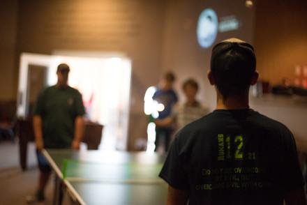 Ping Pong at Youth Group