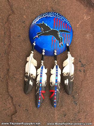 Wolf Shield Pendant