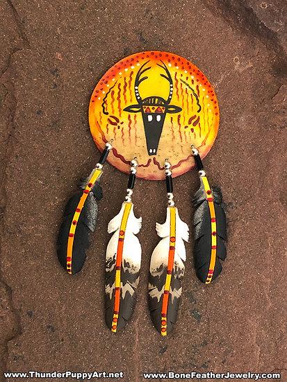 Deer Shield Pendant