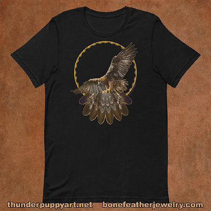 Golden Eagle Short-Sleeve Unisex T-Shirt