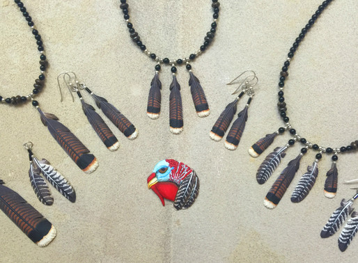 Our Turkey Feather Line and Adopt A Turkey Month