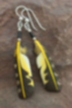 Yellow-shafted Flicker Secondary Feather