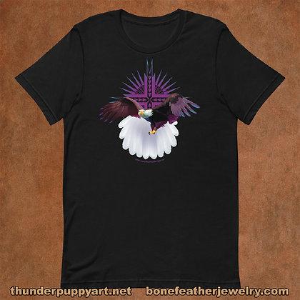 Bald Eagle Short-Sleeve Unisex T-Shirt