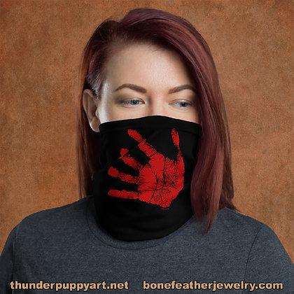 Red Hand Neck Gaiter