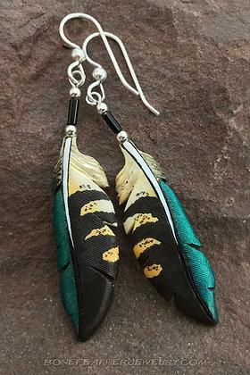 Kea Primary Bone Feather Jewelry