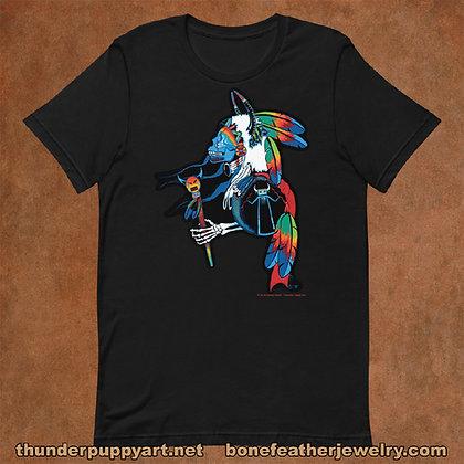 Skeleton Warrior Short-Sleeve Unisex T-Shirt