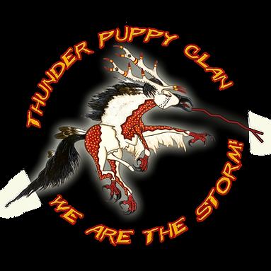 thunder puppy art