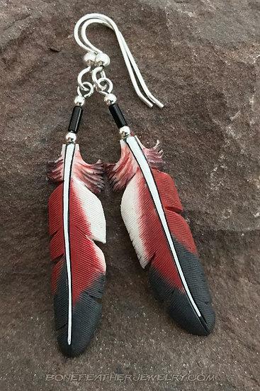 Inca Dove Bone Feather Jewelry