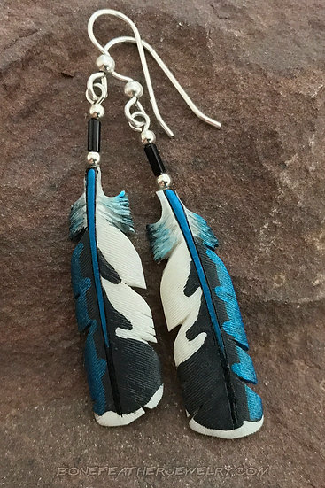 Ringed Kingfisher Secondary Feather
